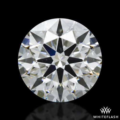 0.522 ct G SI1 A CUT ABOVE® Hearts and Arrows Super Ideal Round Cut Loose Diamond