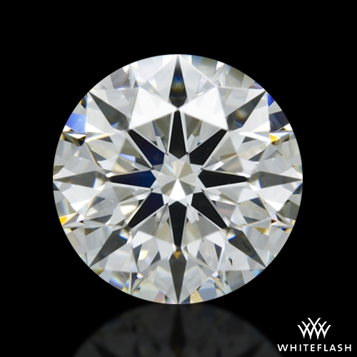 0.81 ct H VS2 A CUT ABOVE® Hearts and Arrows Super Ideal Round Cut Loose Diamond