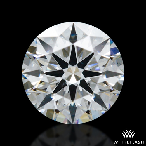 0.358 ct F VS2 A CUT ABOVE® Hearts and Arrows Super Ideal Round Cut Loose Diamond