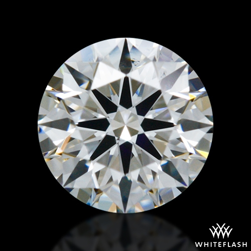 0.323 ct E VS2 A CUT ABOVE® Hearts and Arrows Super Ideal Round Cut Loose Diamond