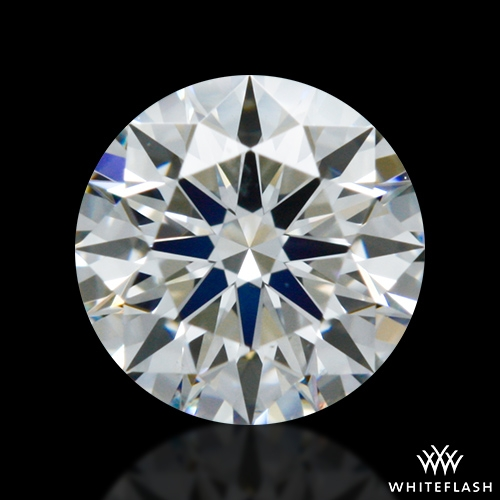 0.345 ct G VS2 A CUT ABOVE® Hearts and Arrows Super Ideal Round Cut Loose Diamond