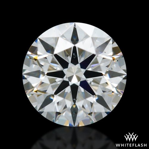 0.311 ct G SI1 A CUT ABOVE® Hearts and Arrows Super Ideal Round Cut Loose Diamond