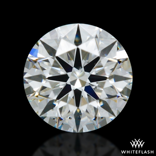 0.303 ct G VS2 A CUT ABOVE® Hearts and Arrows Super Ideal Round Cut Loose Diamond