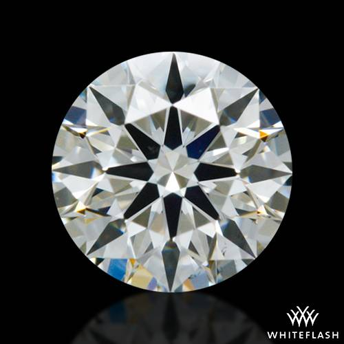 0.303 ct I VS2 A CUT ABOVE® Hearts and Arrows Super Ideal Round Cut Loose Diamond