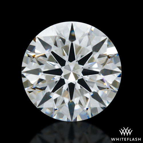 0.416 ct F VS2 A CUT ABOVE® Hearts and Arrows Super Ideal Round Cut Loose Diamond