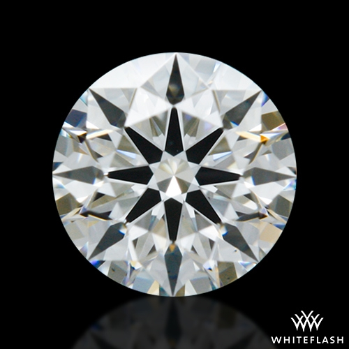 0.413 ct H VS1 A CUT ABOVE® Hearts and Arrows Super Ideal Round Cut Loose Diamond