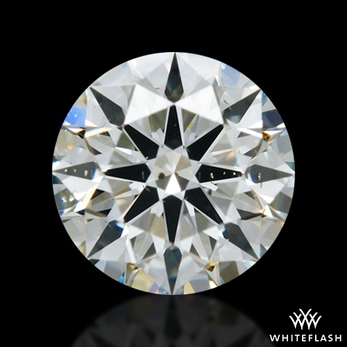 0.404 ct I SI1 A CUT ABOVE® Hearts and Arrows Super Ideal Round Cut Loose Diamond