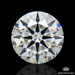 0.415 ct H SI1 A CUT ABOVE® Hearts and Arrows Super Ideal Round Cut Loose Diamond