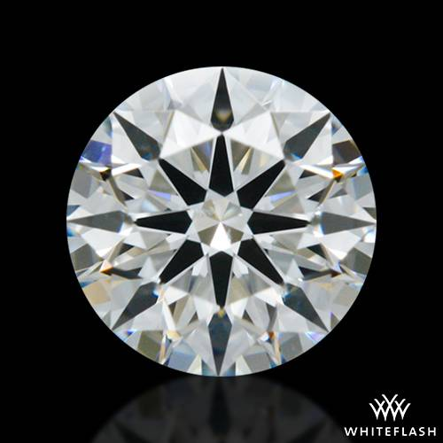 0.405 ct G SI1 A CUT ABOVE® Hearts and Arrows Super Ideal Round Cut Loose Diamond