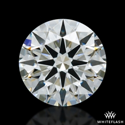 0.303 ct H VS2 A CUT ABOVE® Hearts and Arrows Super Ideal Round Cut Loose Diamond