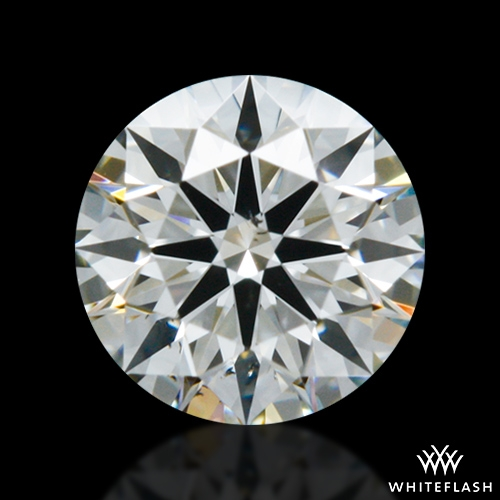 0.327 ct H SI1 A CUT ABOVE® Hearts and Arrows Super Ideal Round Cut Loose Diamond