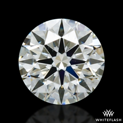 0.335 ct J SI1 A CUT ABOVE® Hearts and Arrows Super Ideal Round Cut Loose Diamond