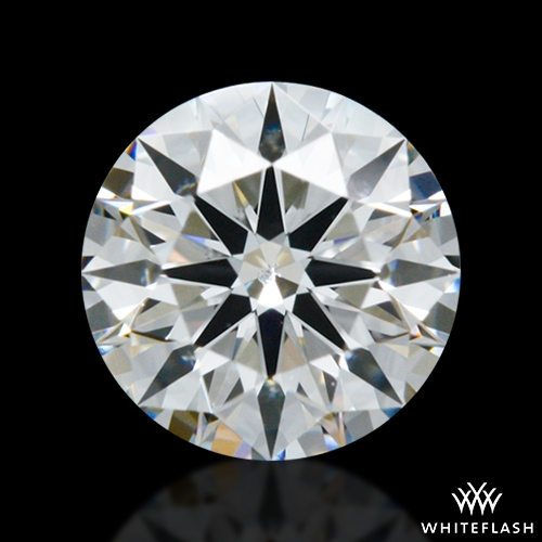 0.414 ct F SI1 A CUT ABOVE® Hearts and Arrows Super Ideal Round Cut Loose Diamond