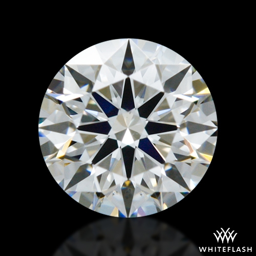 0.423 ct F VS2 A CUT ABOVE® Hearts and Arrows Super Ideal Round Cut Loose Diamond