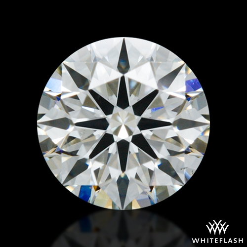 0.418 ct I VS2 A CUT ABOVE® Hearts and Arrows Super Ideal Round Cut Loose Diamond