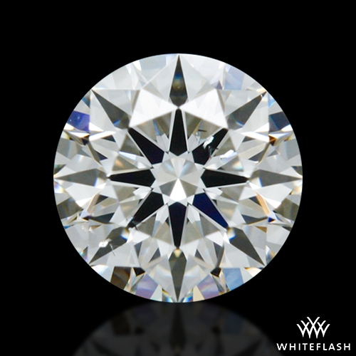 0.414 ct H SI1 A CUT ABOVE® Hearts and Arrows Super Ideal Round Cut Loose Diamond