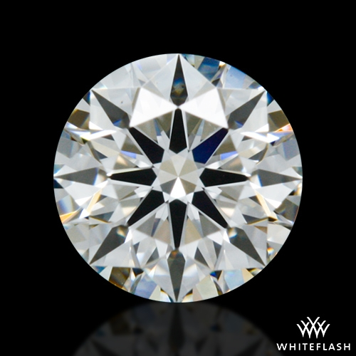 0.402 ct I VS1 A CUT ABOVE® Hearts and Arrows Super Ideal Round Cut Loose Diamond