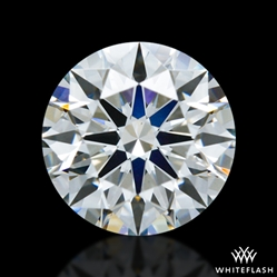 0.562 ct G SI2 A CUT ABOVE® Hearts and Arrows Super Ideal Round Cut Loose Diamond
