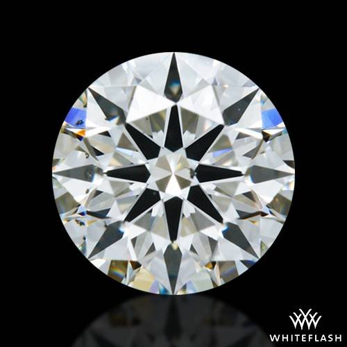 0.544 ct J SI1 A CUT ABOVE® Hearts and Arrows Super Ideal Round Cut Loose Diamond