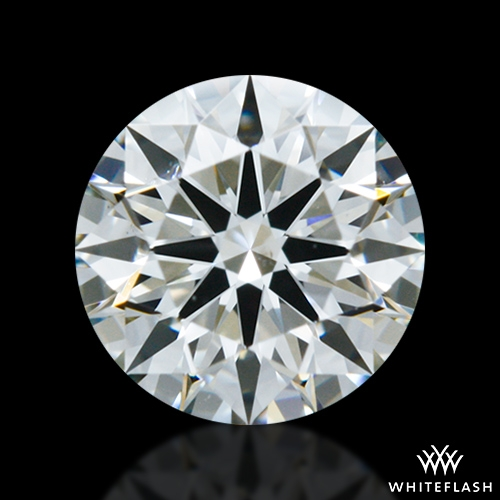 0.545 ct J SI1 A CUT ABOVE® Hearts and Arrows Super Ideal Round Cut Loose Diamond