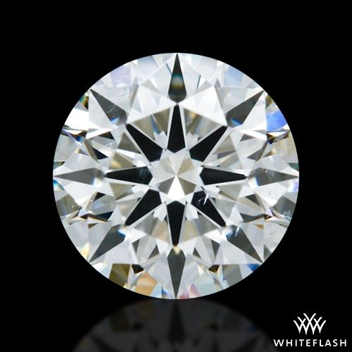 0.556 ct J SI1 A CUT ABOVE® Hearts and Arrows Super Ideal Round Cut Loose Diamond