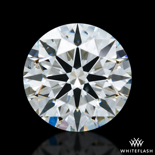 0.564 ct I SI1 A CUT ABOVE® Hearts and Arrows Super Ideal Round Cut Loose Diamond