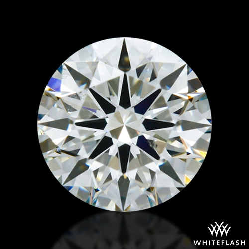 0.506 ct K SI1 A CUT ABOVE® Hearts and Arrows Super Ideal Round Cut Loose Diamond