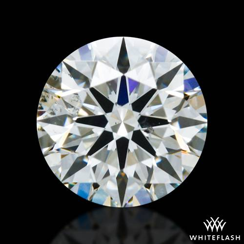 0.513 ct J SI1 A CUT ABOVE® Hearts and Arrows Super Ideal Round Cut Loose Diamond