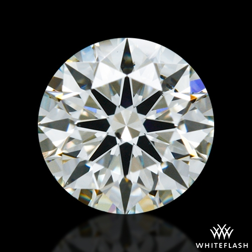 0.521 ct K SI1 A CUT ABOVE® Hearts and Arrows Super Ideal Round Cut Loose Diamond