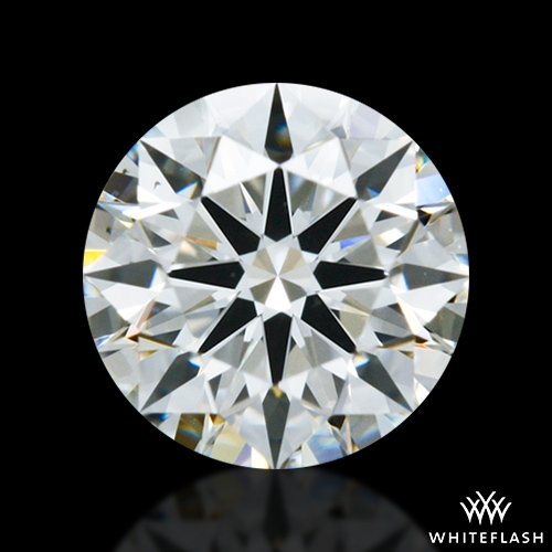 0.538 ct K VS2 A CUT ABOVE® Hearts and Arrows Super Ideal Round Cut Loose Diamond