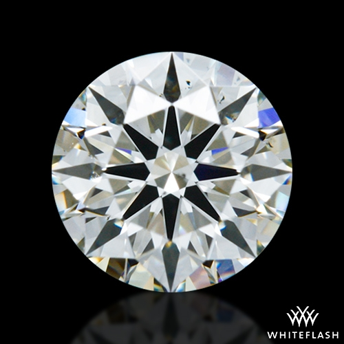0.551 ct K SI1 A CUT ABOVE® Hearts and Arrows Super Ideal Round Cut Loose Diamond