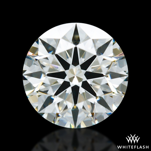 0.514 ct K VS2 A CUT ABOVE® Hearts and Arrows Super Ideal Round Cut Loose Diamond