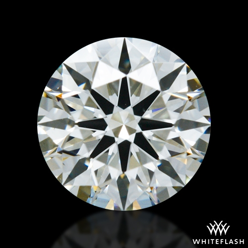 0.546 ct K VS1 A CUT ABOVE® Hearts and Arrows Super Ideal Round Cut Loose Diamond