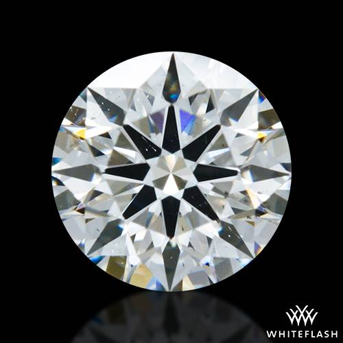 0.678 ct H SI1 A CUT ABOVE® Hearts and Arrows Super Ideal Round Cut Loose Diamond