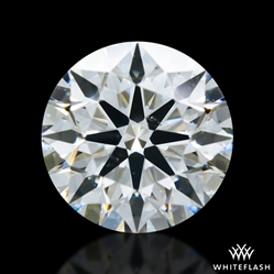 0.707 ct I SI1 A CUT ABOVE® Hearts and Arrows Super Ideal Round Cut Loose Diamond