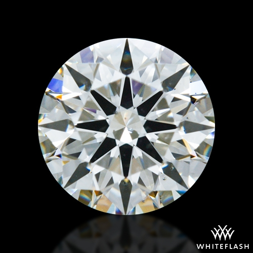 0.724 ct J SI1 A CUT ABOVE® Hearts and Arrows Super Ideal Round Cut Loose Diamond