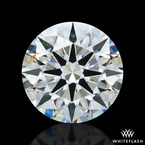 0.725 ct J SI1 A CUT ABOVE® Hearts and Arrows Super Ideal Round Cut Loose Diamond