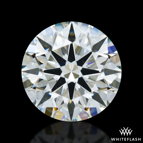 0.737 ct J VS2 A CUT ABOVE® Hearts and Arrows Super Ideal Round Cut Loose Diamond
