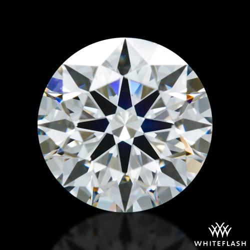0.745 ct I VS1 A CUT ABOVE® Hearts and Arrows Super Ideal Round Cut Loose Diamond