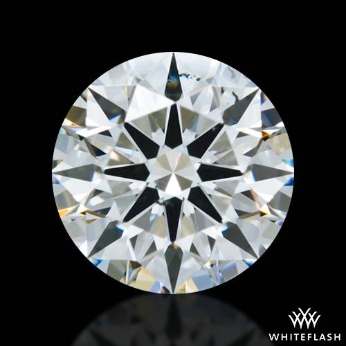 0.747 ct H SI1 A CUT ABOVE® Hearts and Arrows Super Ideal Round Cut Loose Diamond