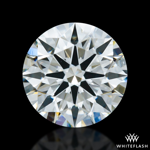 0.781 ct I SI1 A CUT ABOVE® Hearts and Arrows Super Ideal Round Cut Loose Diamond