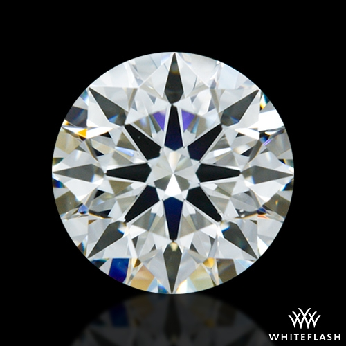 0.851 ct J VS2 A CUT ABOVE® Hearts and Arrows Super Ideal Round Cut Loose Diamond