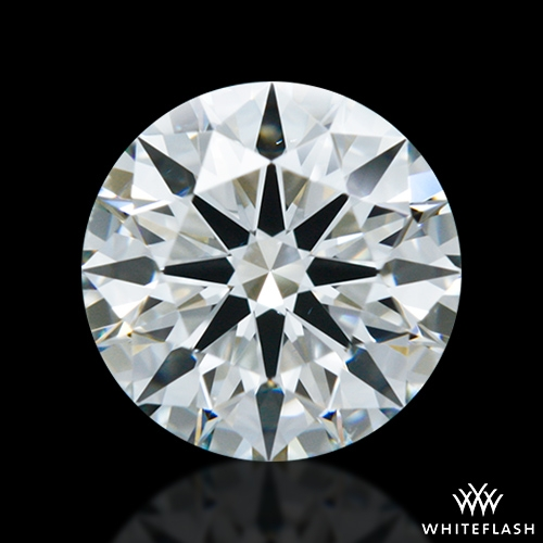 0.867 ct I VS2 A CUT ABOVE® Hearts and Arrows Super Ideal Round Cut Loose Diamond