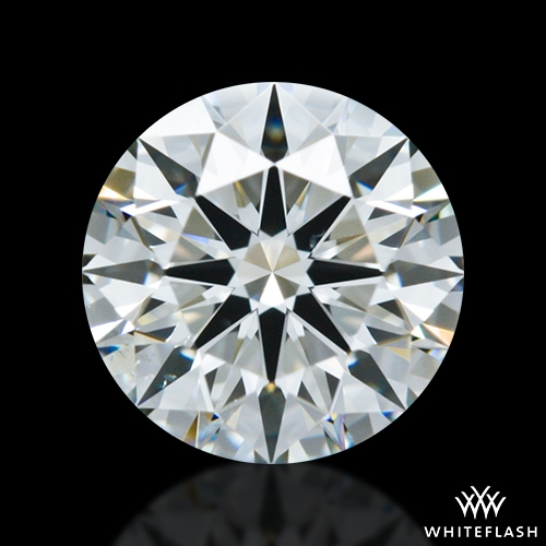 0.915 ct J VS2 A CUT ABOVE® Hearts and Arrows Super Ideal Round Cut Loose Diamond