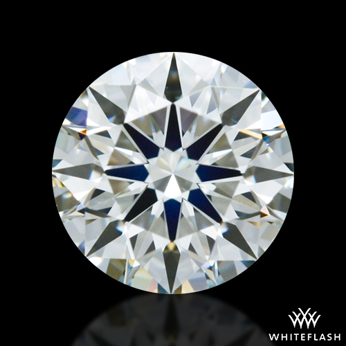 0.551 ct J VS1 A CUT ABOVE® Hearts and Arrows Super Ideal Round Cut Loose Diamond