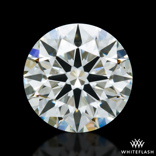 0.422 ct J VS2 A CUT ABOVE® Hearts and Arrows Super Ideal Round Cut Loose Diamond