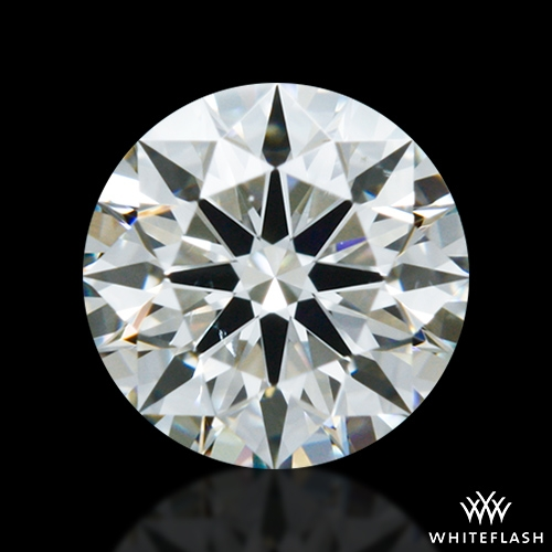 0.404 ct J SI1 A CUT ABOVE® Hearts and Arrows Super Ideal Round Cut Loose Diamond