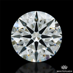 0.306 ct I SI1 A CUT ABOVE® Hearts and Arrows Super Ideal Round Cut Loose Diamond