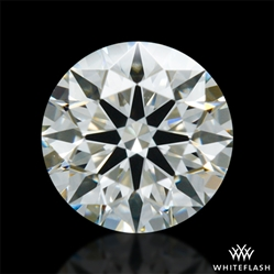 0.327 ct J SI1 A CUT ABOVE® Hearts and Arrows Super Ideal Round Cut Loose Diamond