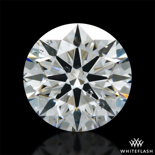 0.308 ct J SI1 A CUT ABOVE® Hearts and Arrows Super Ideal Round Cut Loose Diamond